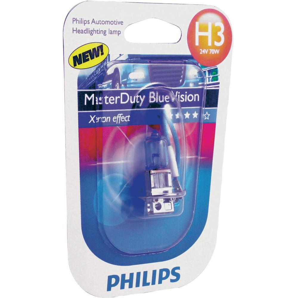 Λάμπα Philips Master Duty Blue Vision H3 Κωδικός 13336MDBVB1