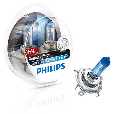 Λάμπα Philips Master Duty Blue Vision H4 Κωδικός 13342MDBVB1