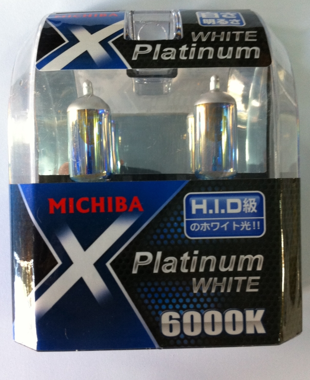 Λάμπες Τύπου Xenon H4 Michiba White Platinum