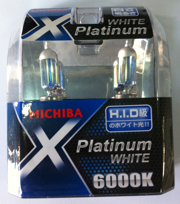 Λάμπες Τύπου Xenon H8 Michiba White Platinum
