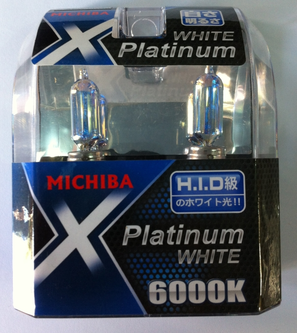 Λάμπες Τύπου Xenon H9 Michiba White Platinum
