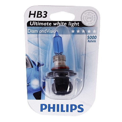 Λάμπες Philips Diamond Vision HB3 5000K 65W Κωδικός 9005DVB1