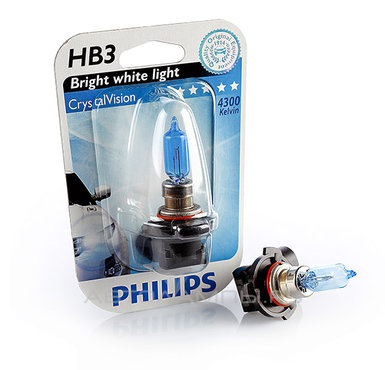 Λάμπες Philips Crystal Vision HB3 4300K 65W Κωδικός 9005CVB1