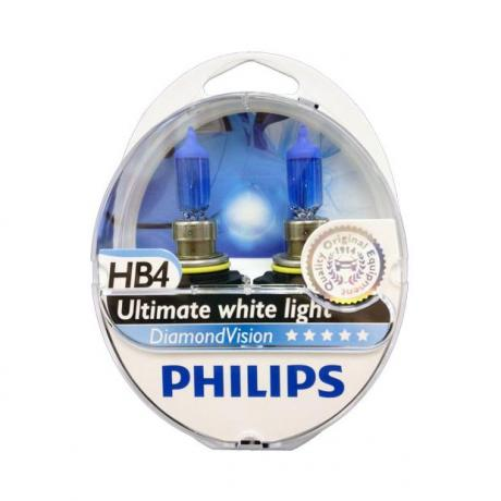 Λάμπες Philips Diamond Vision HB4 5000K 55W Κωδικός 9006DVS2