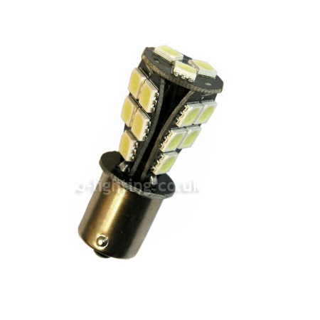 Μονοπολική BA15S 23 SMD Canbus Orange