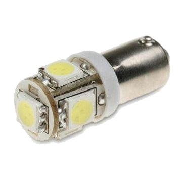 Led BA9S 5 SMD Yellow 50/50