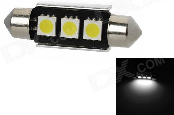 Led Canbus Σωληνωτό 3 SMD White 39mm