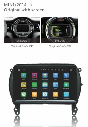 LM G836A GPS OEM ANDROID 7 MINI 2014> GPS/ MEDIA STAT
