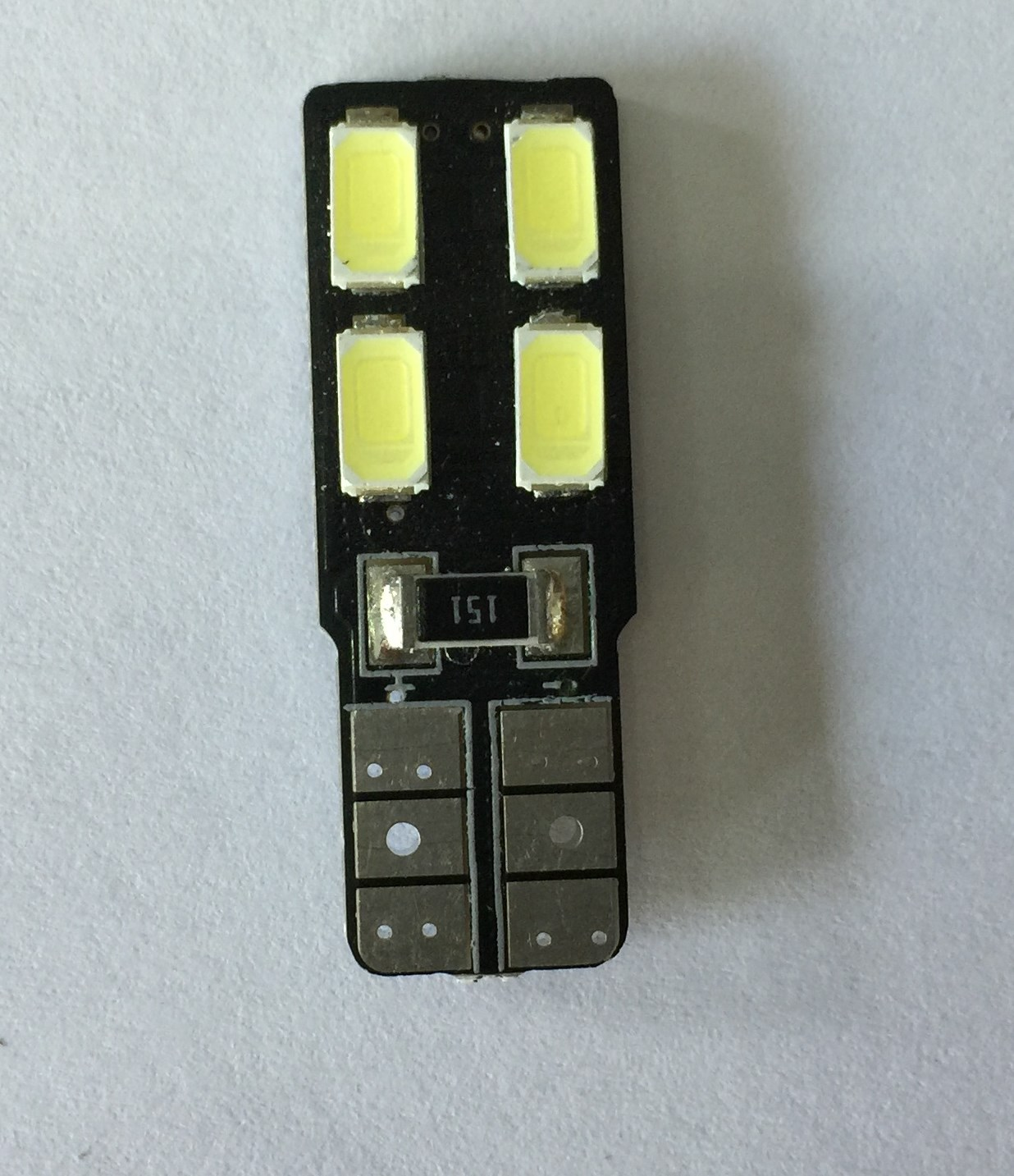 Led T10 4 SMD Τιμή : 6 ευρώ