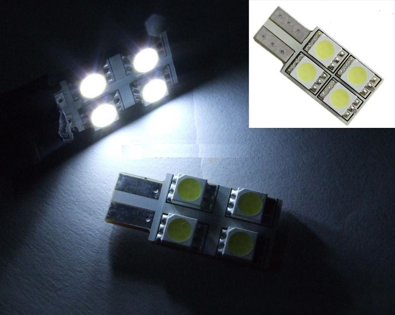 Led Canbus T10 4 SMD White