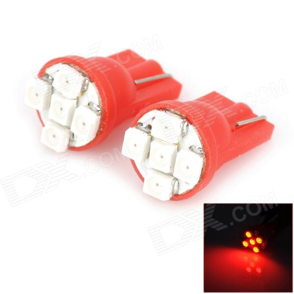 T10 5 SMD Red