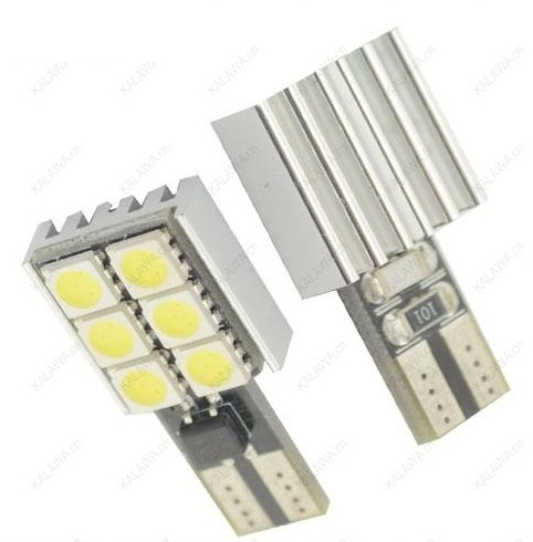 Led Canbus T10 6 SMD White