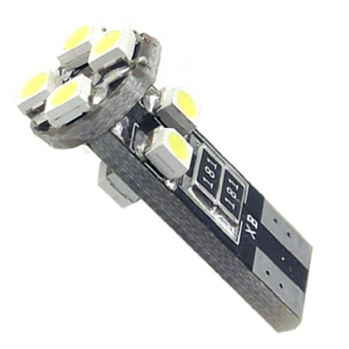 Led Canbus T10 8 SMD Green