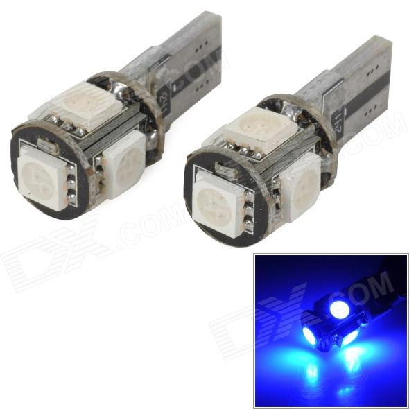 Led Canbus T10 4+1 SMD Blue Τιμη : 6 ευρώ