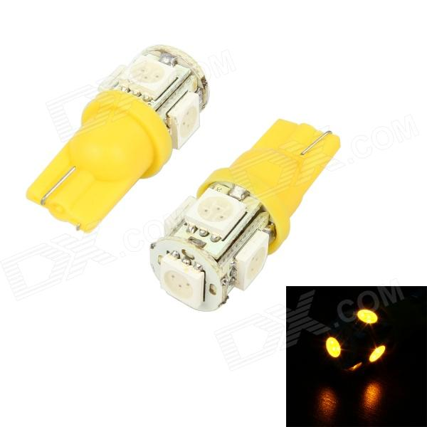 Led T10 5 SMD Yellow 24V