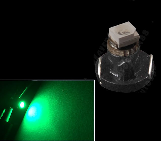 Led T4.2 Green 1 SMD